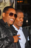 Zal smith en jamie foxx — Stockfoto