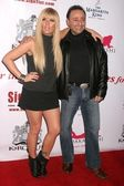 Kimberly Caldwell and Jacob Meir at the Shoes For The Stars Launch Party sponsored by The Margarita King. 7588 Melrose Ave., West Hollywood, CA. 04-08-08 — Stock Photo
