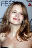 """Jennifer Jason Leigh at the AFI Fest 2007 Screening Of """"Margot At The Wedding"""". AFI Fest Rooftop Village, Hollywood, CA. 11-03-07 — Stock Photo"""