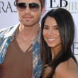 Eric Winter and Roselyn Sanchez at the Kinerase Skincare Celebration On The Pier hosted by Courteney Cox to benefit the EV Medical Research Foundation. Santa Monica Pier, Santa Monica, CA. 09-29-07 - Zdjcie stockowe