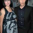 Keanu Reeves and guest  at the Los Angeles premiere of Street Kings. Graumans Chinese Theatre, Hollywood, CA 04-03-08 - Zdjcie stockowe