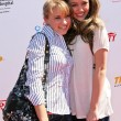 Постер, плакат: Emily Osment and Miley Cyrus at the 2007 Power of Youth Benefiting St Jude The Globe Theatre Universal City CA 10 06 07