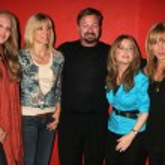 ������, ������: Tiffany Trump Marla Maples Howard Fine Cynthia Bain and Deborah Gibson