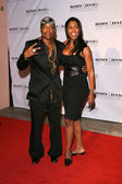 Won-G and Omarosa Manigault-Stallworth — Stock Photo