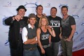 The Band From TV and Greg Grunberg with Bob Guiney and James Denton — Stock Photo
