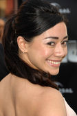 Aimee Garcia at the World Premiere of The Incredible Hulk. Gibson Amphitheatre, Universal Studios, Universal City, CA. 06-08-08 — Stok fotoğraf
