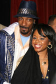 Snoop Dogg and wife Shante — Stock Photo