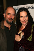 Richard Schiff and Sheila Kelley — Stock Photo