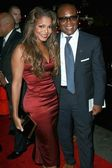 """Janet Jackson and Antonio Reid at the premiere of """"Why Did I Get Married?"""". Arclight Theatre, Hollywood, CA. 10-04-07 — Foto Stock"""