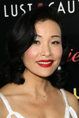 "Joan Chen at the Los Angeles Premiere of ""Lust Caution"". Academy of Motion Picture Arts and Sciences, Beverly Hills, CA. 10-3-07 — Stock Photo"