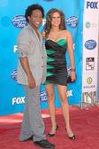 Brandon Rogers and Haley Scarnato — Stock Photo