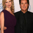 Simon Fuller and friend - Foto de Stock