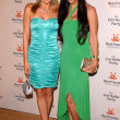 Alana Curry and DeeDee Bigelow at The14th Annual Lint Roller Party hosted by The Best Friends Animal Society. The Jim Henson Company Lot, Hollywood, CA. 11-10-07 - Zdjcie stockowe