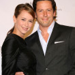 Jennifer Love Hewitt and Ross McCall - Foto de Stock