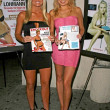 Katie Lohmann and Alana Curry at Knockout Magazine August issue Party Hollys West, Santa Monica, CA. 07-03-08 - Stock Photo