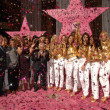 Johnny Grant and the Victoria Secret Angels at a ceremony honoring the Victorias Secret Angels with the Hollywood Award of Excllence. Hollywood Boulevard, Hollywood, CA. 11-13-07 - Stock Photo