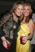 Kathy Hartman and Jacquie Blaze at the Mansion Party Hosted By British Talk Show Host Jacquie Blaze. Private Residence, Beverly Hills, CA. 12-07-07 — Stock Photo