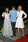 Shannyn Sossamon with Patrick Fugit and Leslie Bibb — Stock Photo