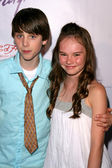 Sterling Beaumon and Madeline Carroll — Stock Photo