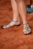 Jillian Clare's shoes — Stock Photo