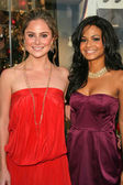 Amanda Brooks, Christina Milian — Stock Photo