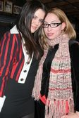 Khloe Kardashian and Jennifer Leeser at the Ed Hardy Holiday Party. Ed Hardy Store, Hollywood, CA. 12-14-07 — Stock Photo