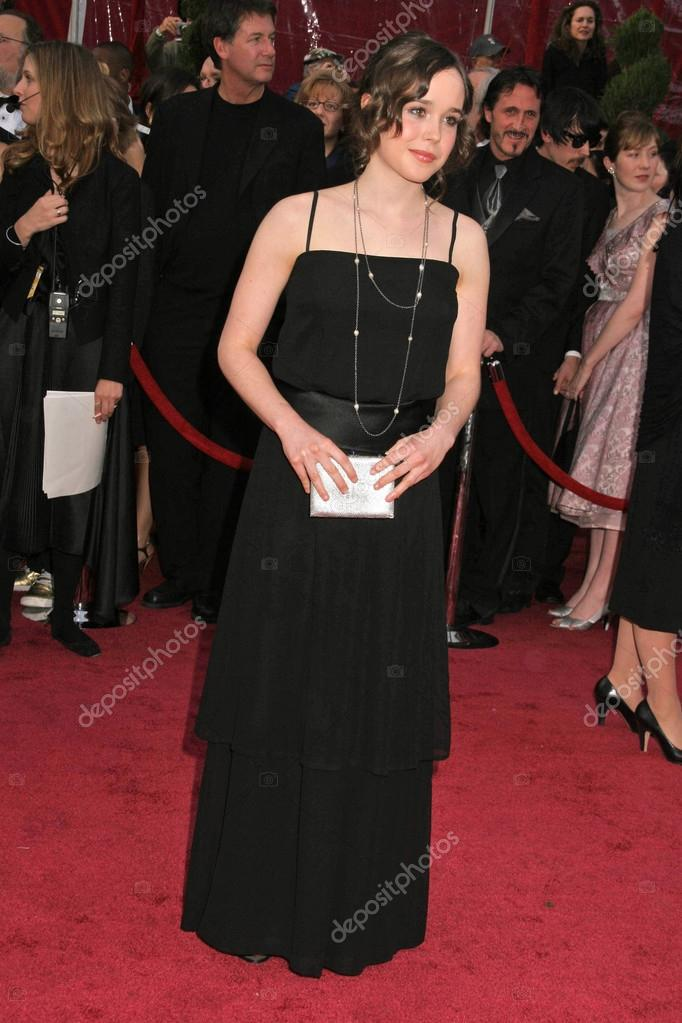 Ellen Page arriving at the 80th Academy Awards. Kodak Theatre, Hollywood, CA. 02-24-08 — Stock Photo #15926947
