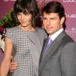 Katie Holmes and Tom Cruise — Stock Photo #15932881