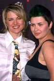 Lucy Lawless and Daisy Lawless — Stock Photo