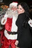 Joanie Laurera ed hardy wakacje imprezie. ed hardy sklep, hollywood, ca. 12-14-07 — Zdjęcie stockowe