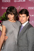 Katie Holmes and Tom Cruise — Stock Photo