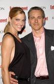 Tricia Helfer and husband Jonathan — Stock Photo