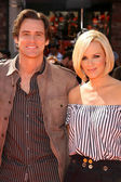 Jim Carrey and Jenny McCarthy — Stock Photo