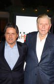 Brad Grey, Sumner Redstone — Stock Photo