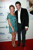 Becki Newton, Michael Urie — Stock fotografie