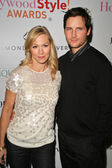 Jennie Garth and Peter Facinelli — Stock Photo