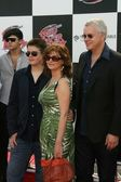 Susan Sarandon and Tim Robbins with son Miles — Stock Photo