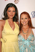 Adrianne Curry and Allison Dubois at TV Guides Sexiest Stars Party. Katsuya and S Bar, Hollywood, CA. 05-01-08 — Zdjęcie stockowe