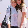 Emily Osment and Miley Cyrus at the 2007 Power of Youth Benefiting St. Jude. The Globe Theatre, Universal City, CA. 10-06-07 - Zdjcie stockowe