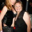 Stock Photo: Jennifer Leeser and her mother at Costume Couture Fashion Show. Boulevard3, Hollywood, CA. 10-24-07