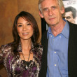 Michelle Yeoh and Roger Spottiswoode — Stock Photo