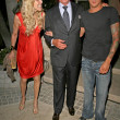 Alana Stewart with George Hamilton and Sean Stewart  at Sober Day USA 2008 Presented by the Brent Shapiro Foundation for Alcohol and Drug Awareness. Private Residence, Beverly Hills, CA. 05-17-08 — Stock Photo
