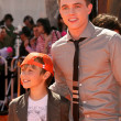 Stock Photo: Jesse McCartney and brother Timothy