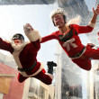 Santa Claus and Mrs. Claus — Stock Photo