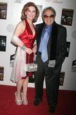 Kat Kramer and George Barris — Fotografia Stock