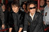 Koshi Inaba and Tak Matsumoto — Stock Photo