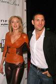 Kristanna Loken and Noah Danby — Stock Photo