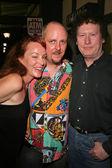 Jenny McShane, J. Nathan Brayley and Randy Scruggs — Stock Photo