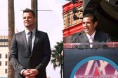 Ricky Martin and Mayor Antonio Villaraigosa — Stock Photo
