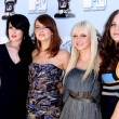 Постер, плакат: Rumer Willis and Emma Stone with Anna Faris and Katharine McPhee